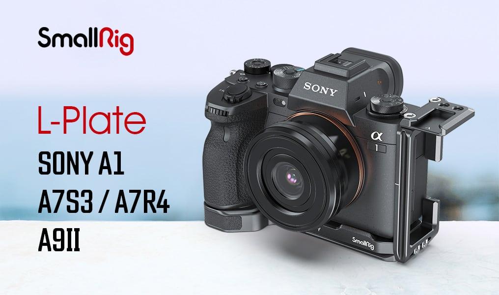 L-Plate Sony A1 A7SIII A7RIV A9II SmallRig 3207