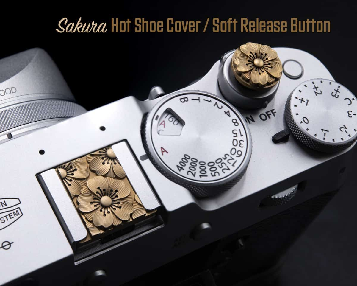 Sakura Soft Release Hot Shoe Cover