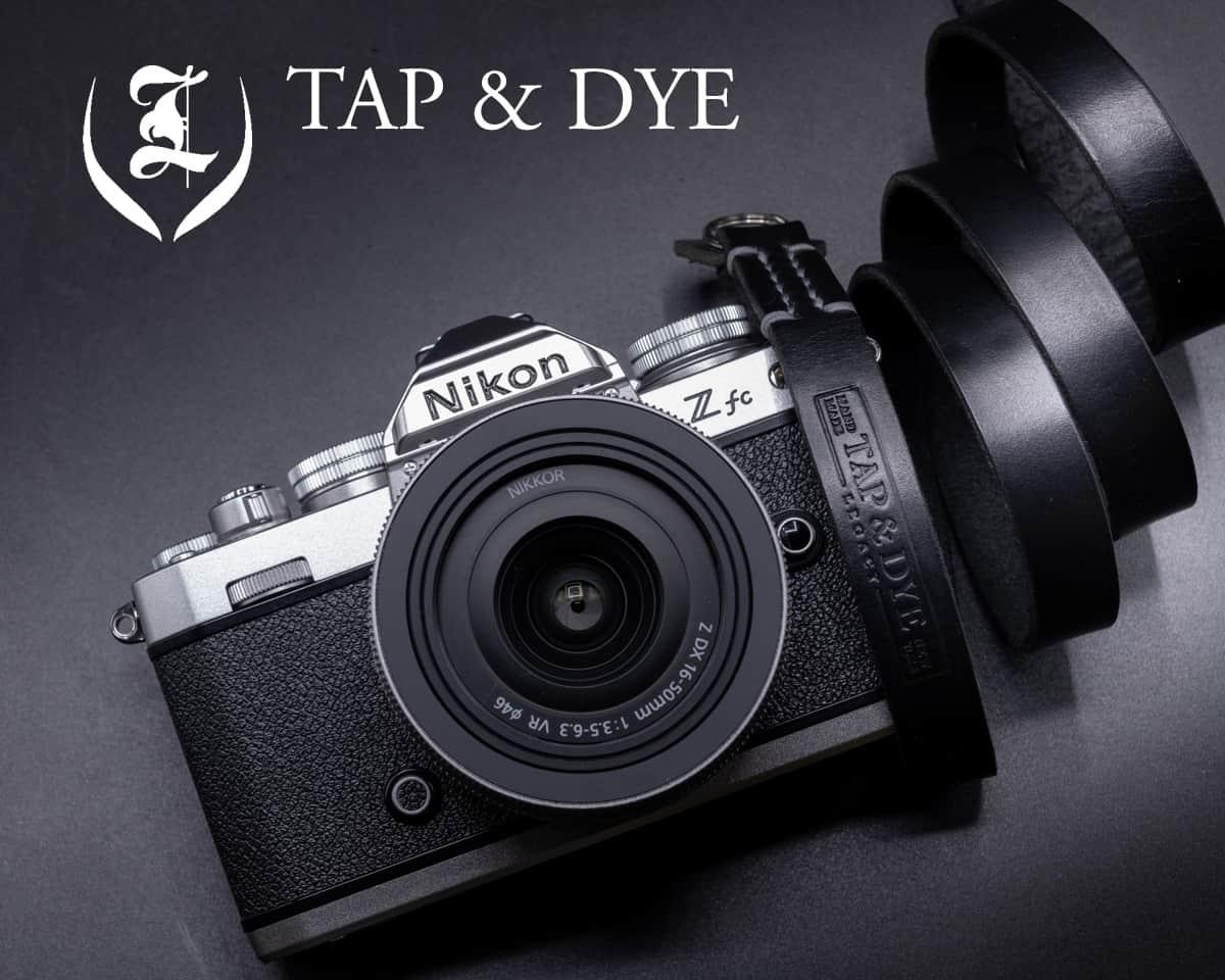 สายคล้องกล้อง TAP & DYE สำหรับ Nikon Zfc