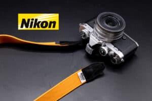 สายคล้องกล้อง Nikon x Porter (Original) สีส้ม