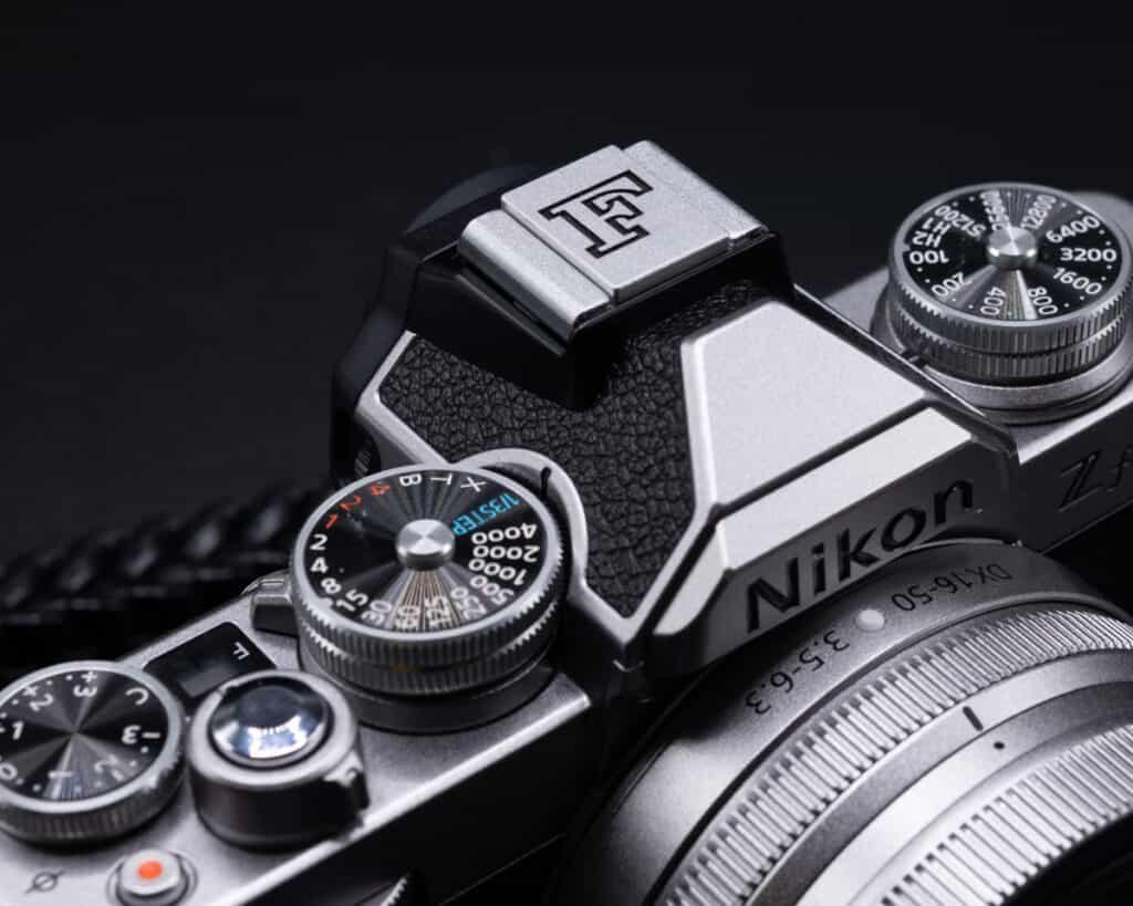 ที่ปิดช่องแฟลช F Hot Shoe Cover Nikon Zfc