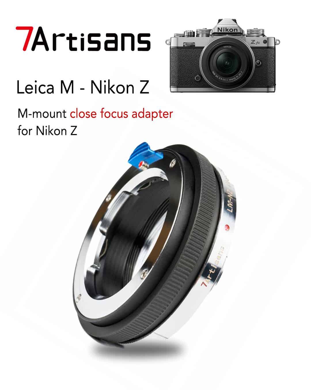 7artisans lm-nz close focus adapter macro helicoid อะแดปเตอร์ แปลงเลนส์