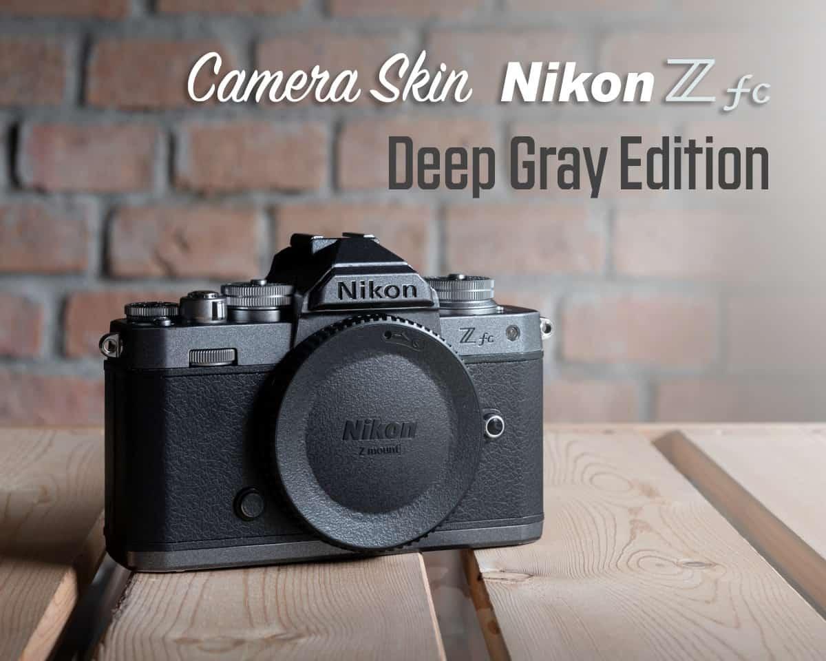 Camera Skin Sticker Nikon Zfc Deep Gray สติ๊กเกอร์ Wrap กล้อง