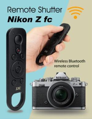 JJC BTR-N1 รีโมทบลูทูธไร้สาย สายลั่น ชัตเตอร์ สำหรับ Nikon Z fc Z50 ใช้แทนที่ Nikon ML-L7
