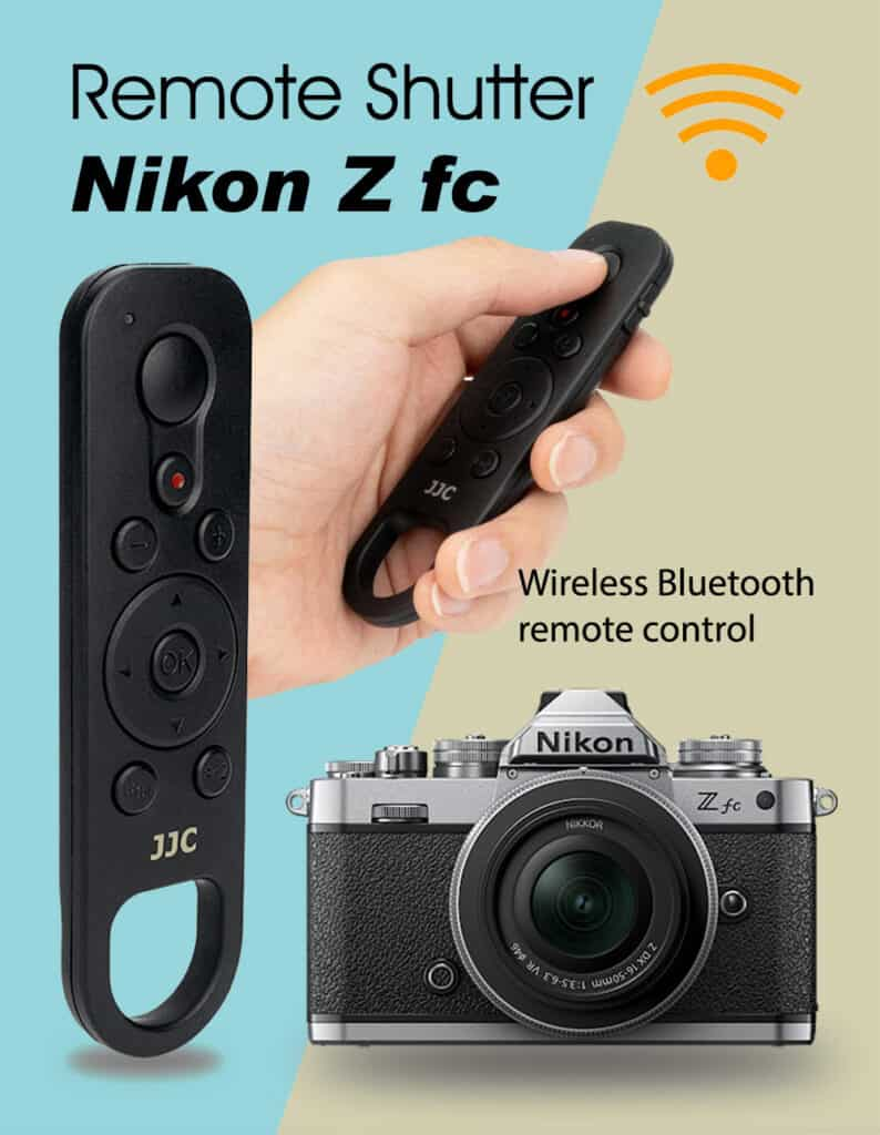 JJC BTR-N1 รีโมทบลูทูธไร้สาย สำหรับ Nikon Zfc Z50 ใช้แทนที่ Nikon ML-L7