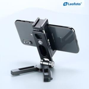 ที่จับมือถือ ที่ตั้งมือถือ LeoFoto PS2 Smart Phone Holder Black