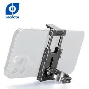 ที่จับมือถือ ตั้งบนขาตั้งกล้องได้ LeoFoto PC60 สีดำ แคลมป์ Smartphone Holder