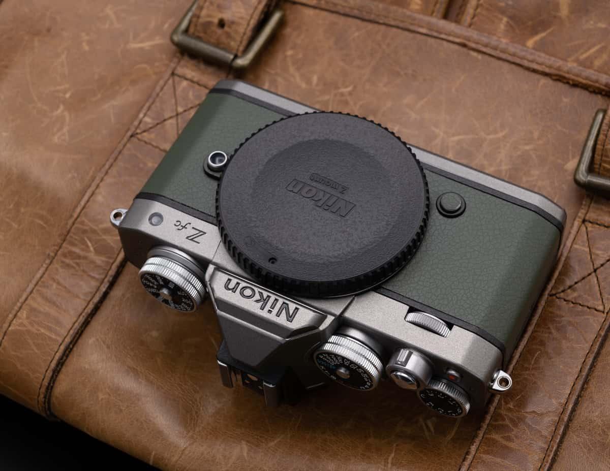 สติ๊กเกอร์ Wrap กล้อง Nikon Zfc Safari Titanium