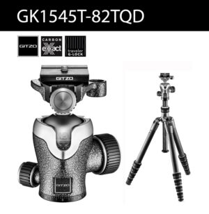Gitzo GT1545T พร้อมหัวบอล Series 1 Traveler Carbon Fiber Tripod GK1545T-82TQD